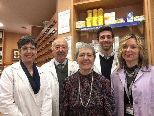Lo Staff della Farmacia