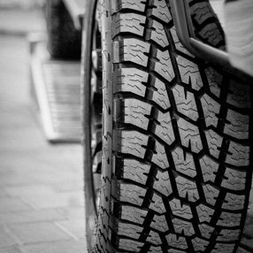 new tyres for the car