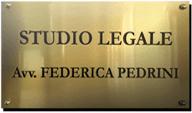 Avvocato Federica Pedrini - Logo