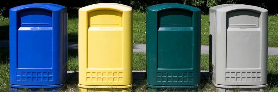 garbage collection bins in Princeton, WV