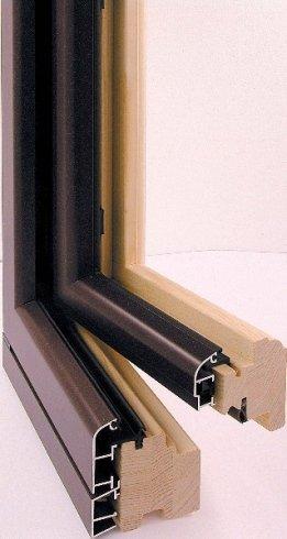 serramenti in legno e alluminio, serramenti in alluminio, serramenti in legno