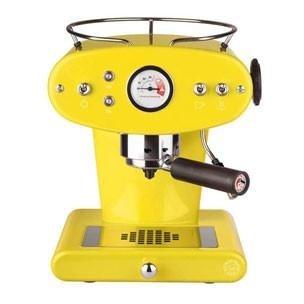 macchina da caffe ese gialla