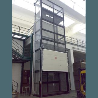 Elevatore trasferibile elettromeccanico
