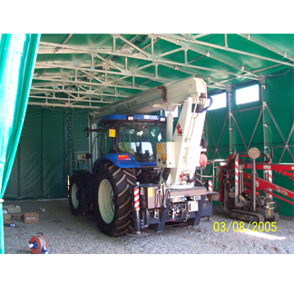Tunnel di copertura mobile autoportante