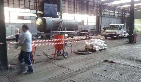 Verniciatura industriale silos