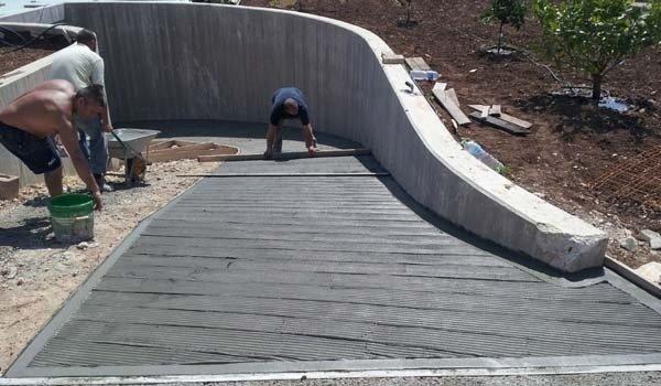 cemento rampe antiscivolo