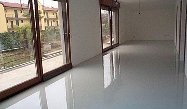 resina per appartamenti