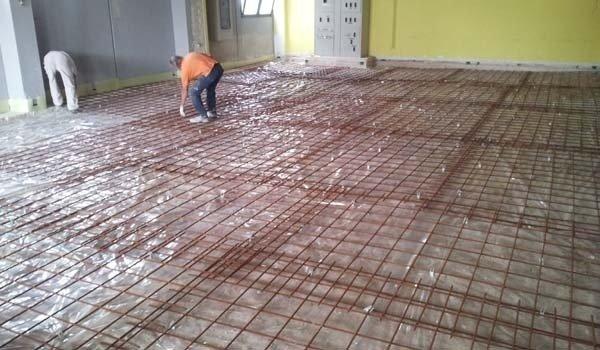 griglia ferro pavimento