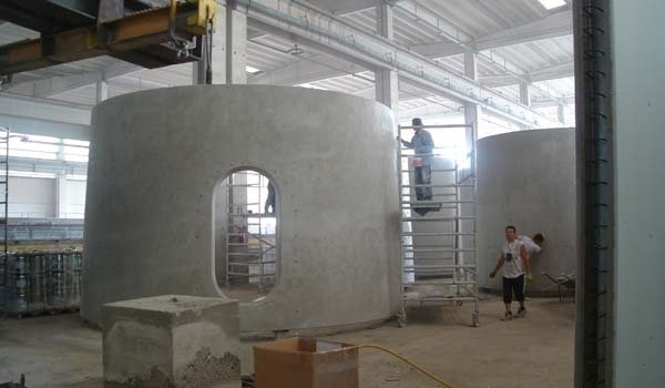 verniciatura cisterna cemento
