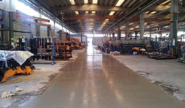 posa pavimenti industriali