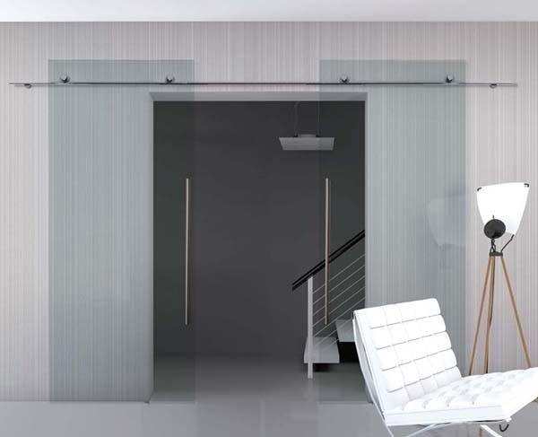 Porte in vetro scorrevoli