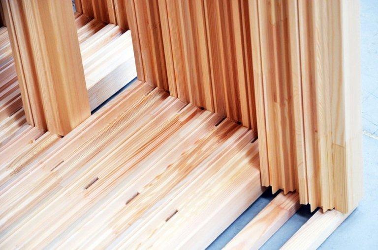 scheletro infissi in legno