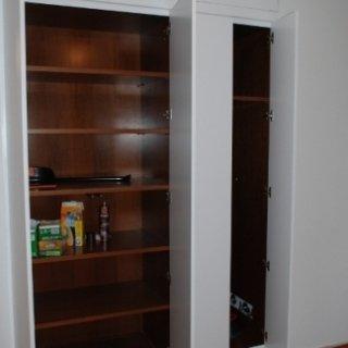 dispensa alimentari, armadio per cucina, soluzioni personalizzate
