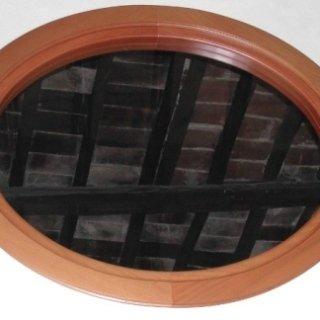cornice in legno, cornice per finestra, cornice ovale