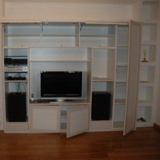 mobile stile moderno, mobile per soggiorno moderno, mobile di falegnameria