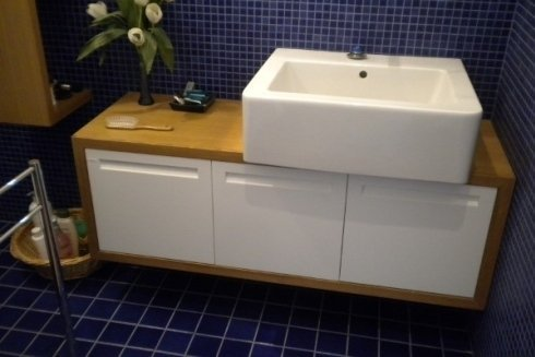 stile e finiture dei mobili vengono decisi dal cliente