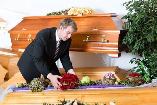 allestimento salma funebre