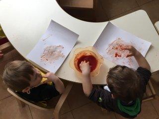 bimbi che lavorano