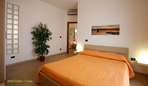 foto di una camera da letto