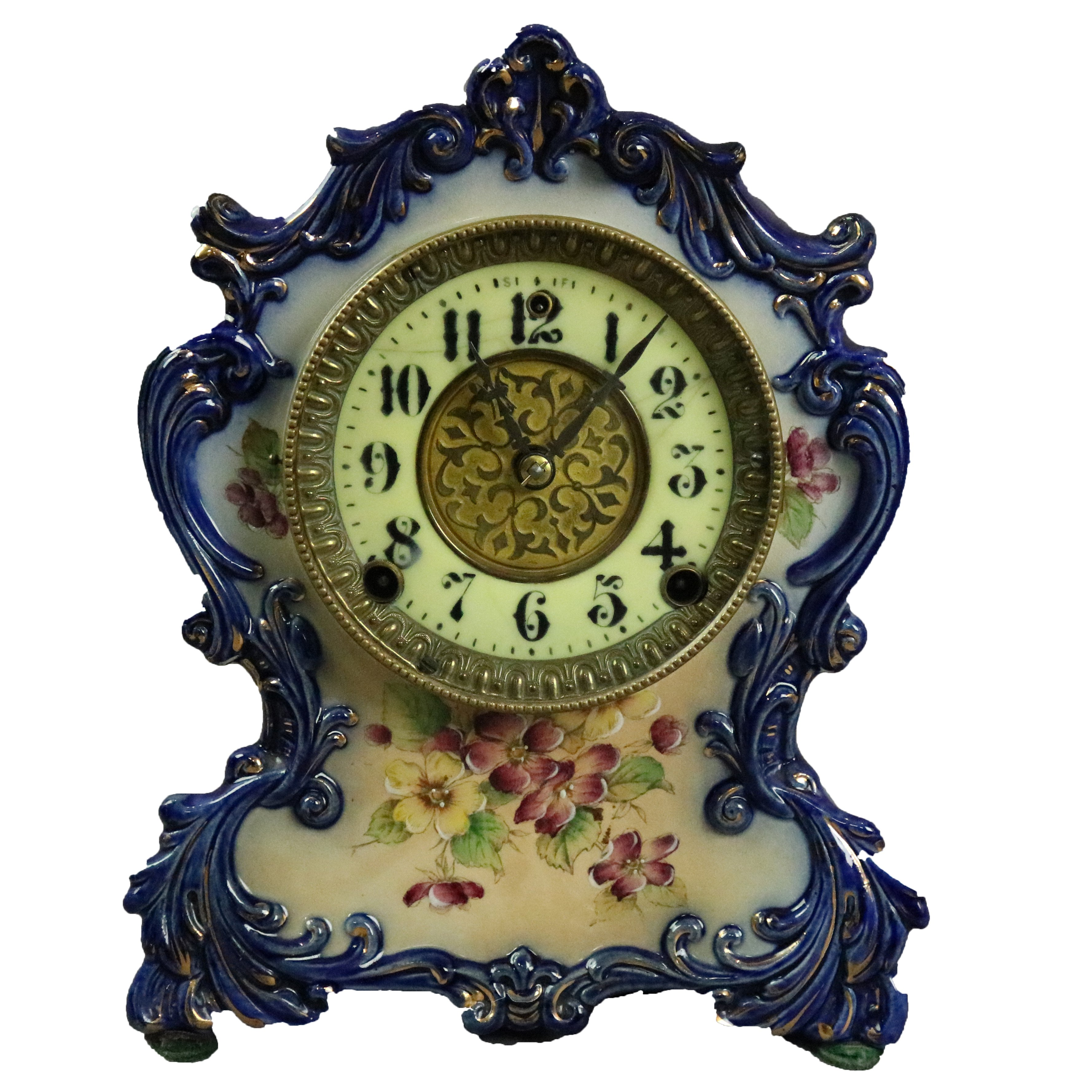 clock timepiece mantel clock collectible