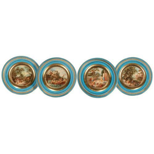 Royal Vienna Porcelain Plates