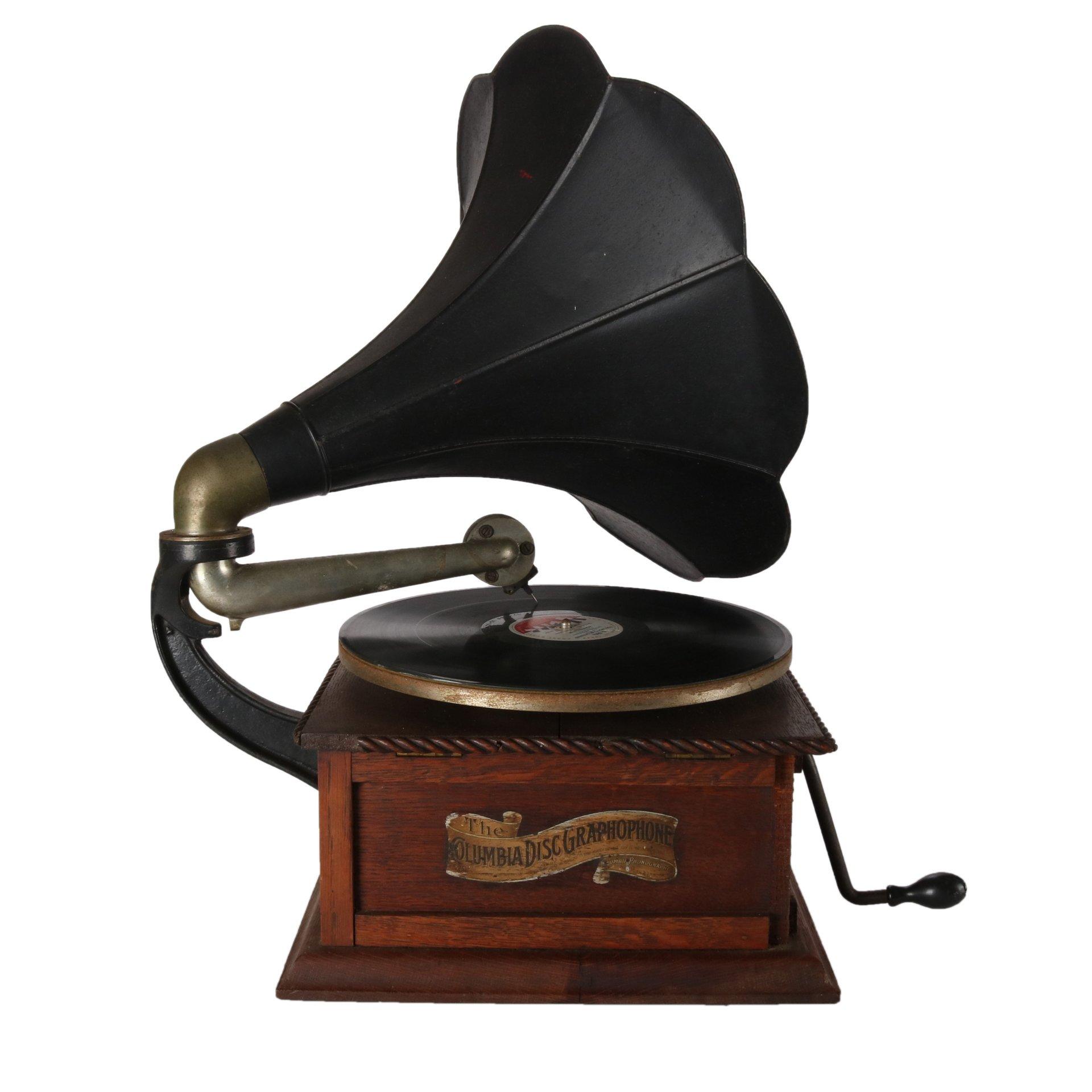 Edison phonograph music box antique