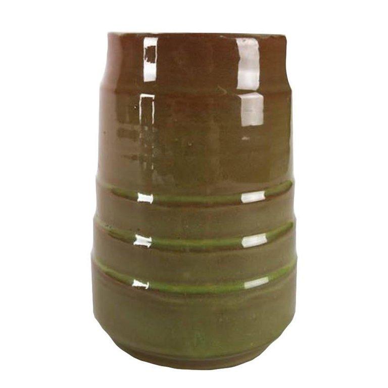 Mid Century Modern art pottery studio pottery