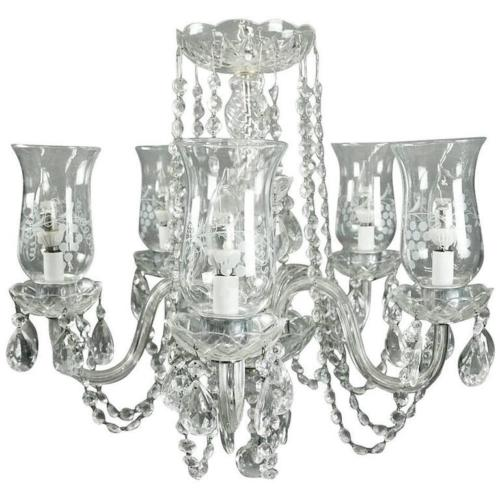 chandelier cut glass crystal