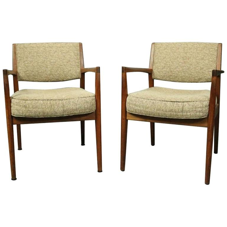 Edward Axel Roffman 1960's Pair of Mid Century Danish Modern Chairs | Antique Revival Ithaca, Watkins Glen, Corning, NY