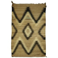 Native American eye dazzler carpet rug antique
