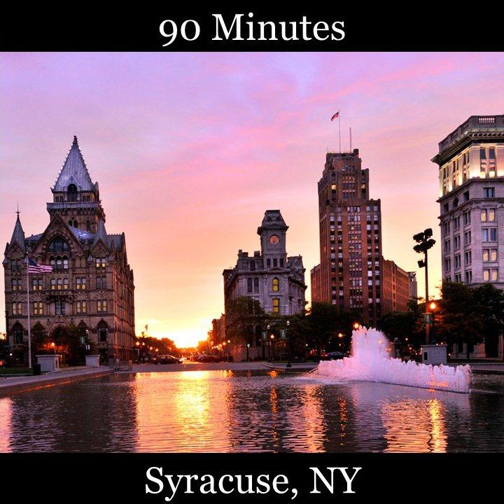 Syracuse Syracuse University River front