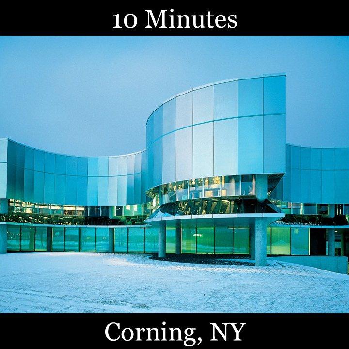 Corning Museum of Glass CMOG glass city
