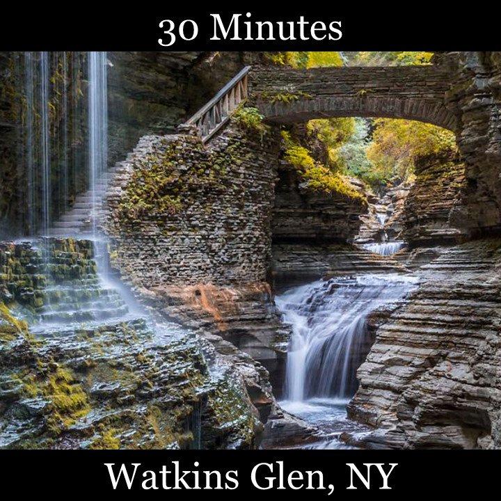 Waktins Glen Gorge Watkins Falls