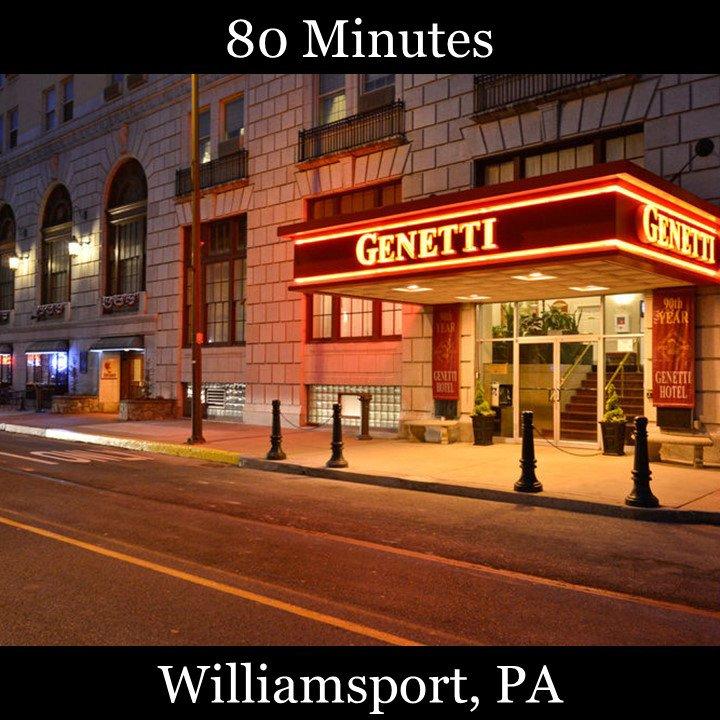 Williamsport Genetti hotel historic