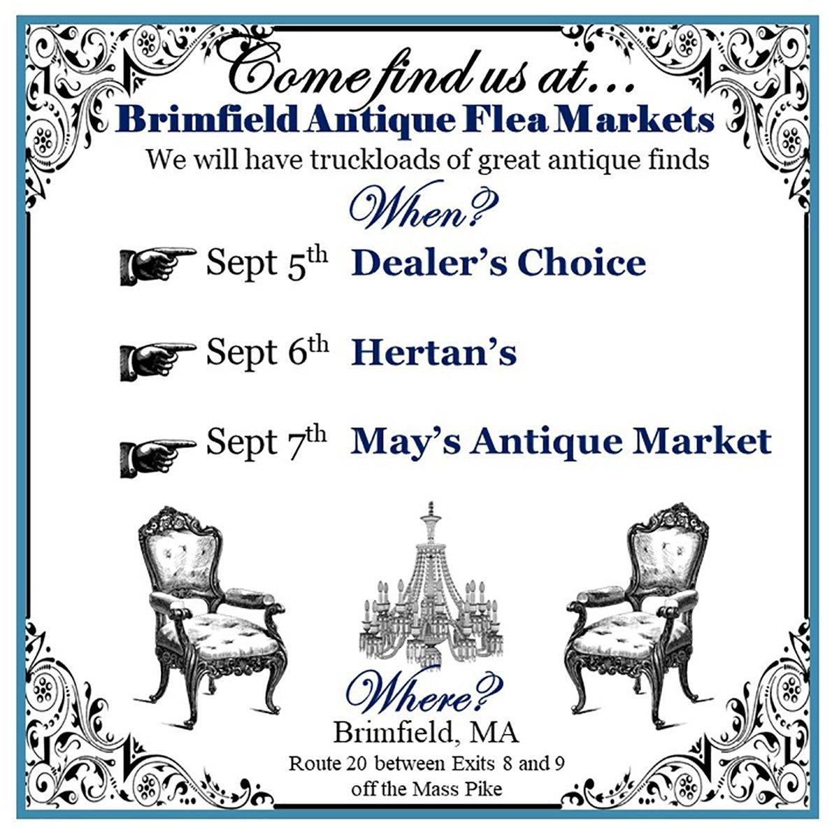 brimfield mass Massachusetts flea market find