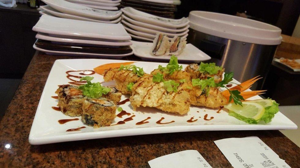 sushi in pastella