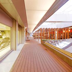 Ambiente interno di un centro commericale