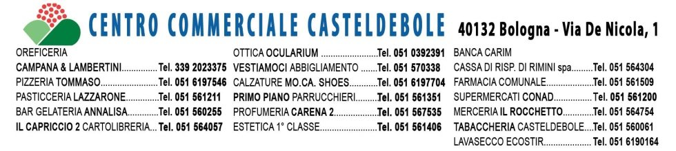 Negozi centro commerciale Casteldebole