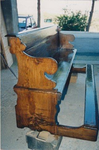 restauro inginocchiatoio