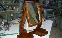 restauro specchio antico