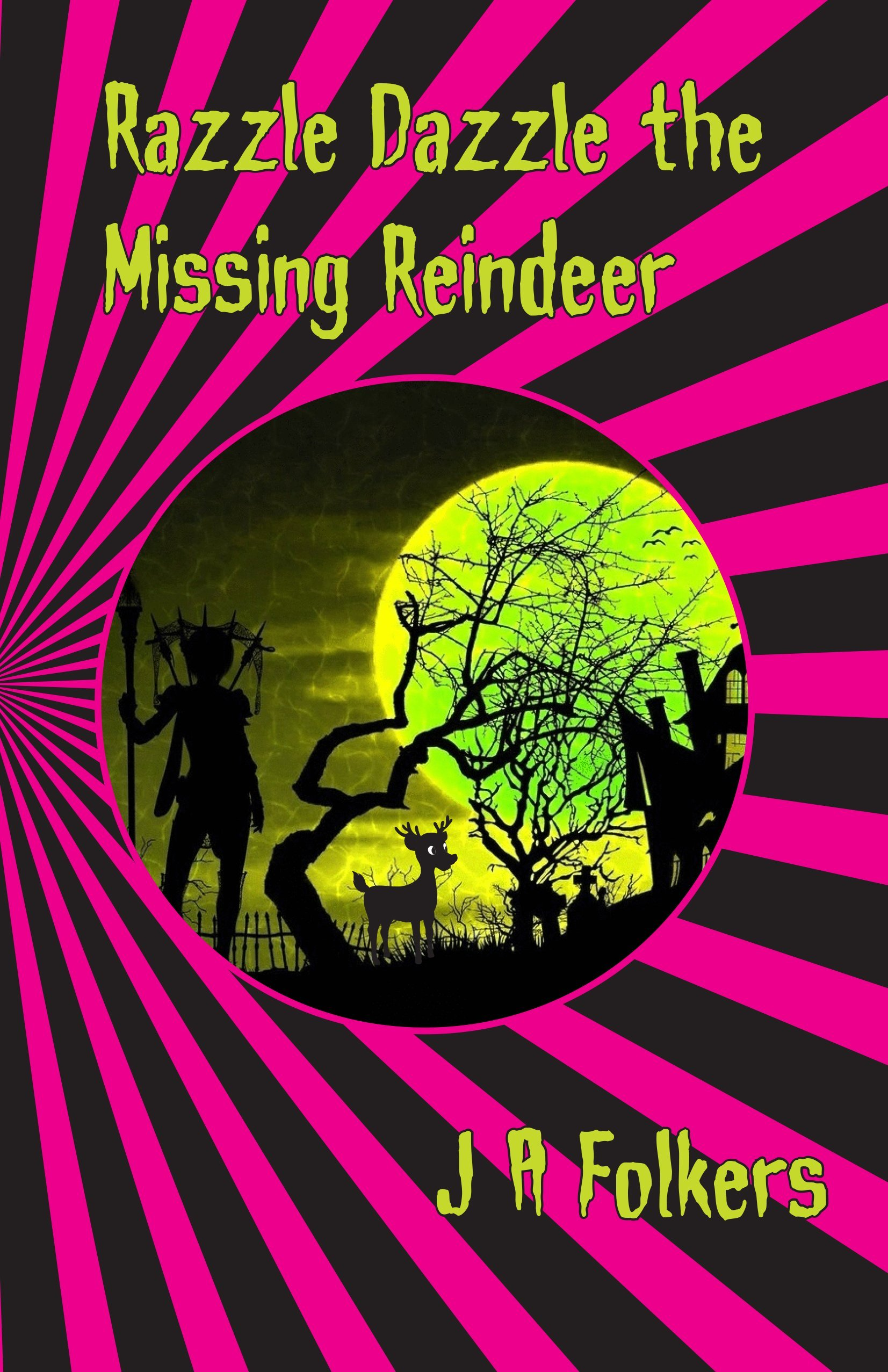 Razzle Dazzle the Missing Reindeer cover page