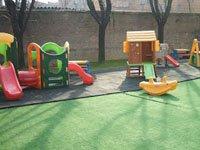 area giochi all'esterno