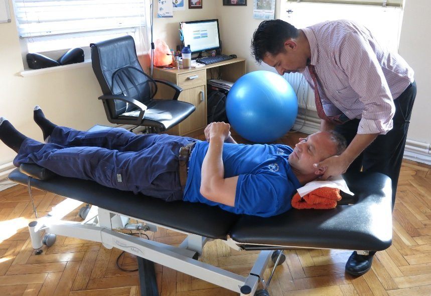 Gentle cervical manipulation