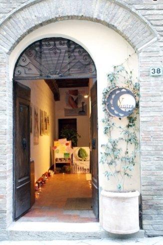 Ingresso Centro Yantra Montalcino