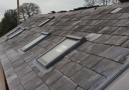 Roof Slating Projects In Chorley
