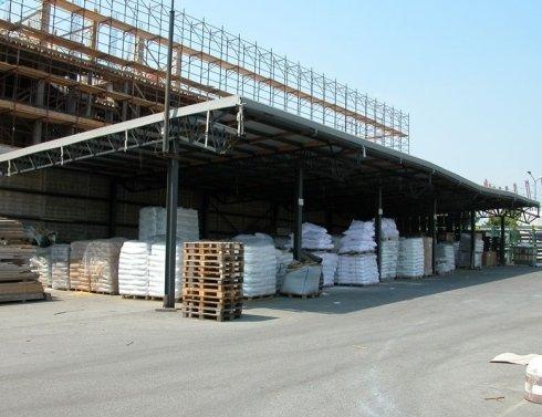 pergole pvc magazzini esterni