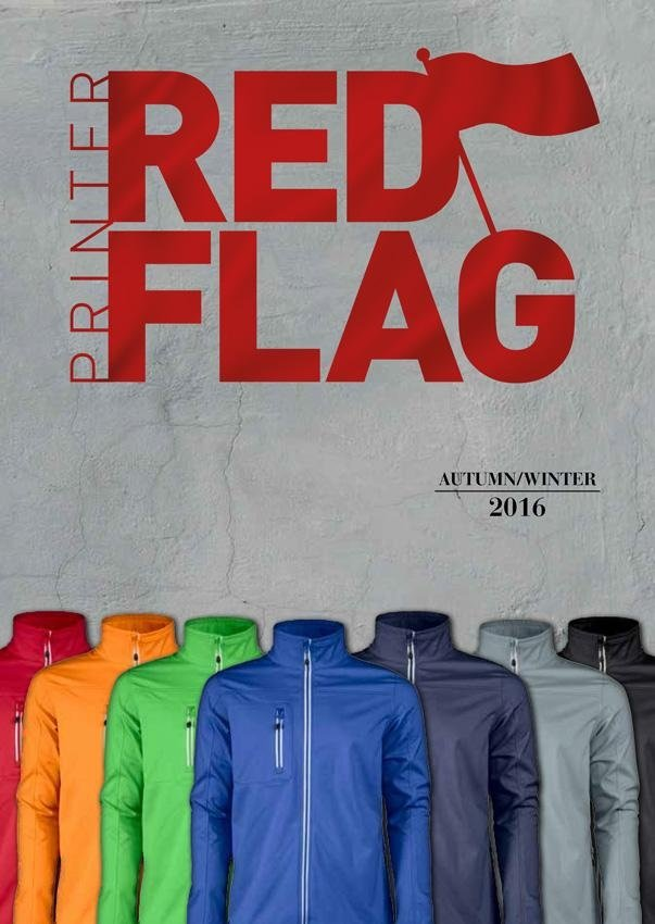 Calatolo Abbigliamento Printer Red Flag