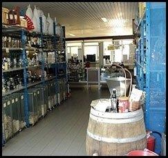 vendita di bottiglie per vini