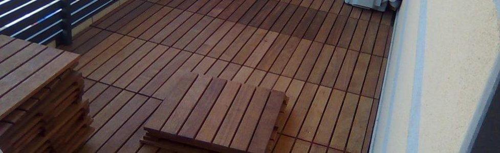scale e battiscopa in legno