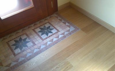 mosaici di legno